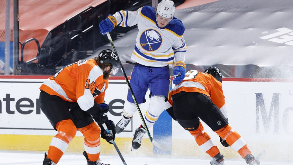 NHL: Michael Raffle Missing From Flyers Shock vs Sabers - Winter Sports