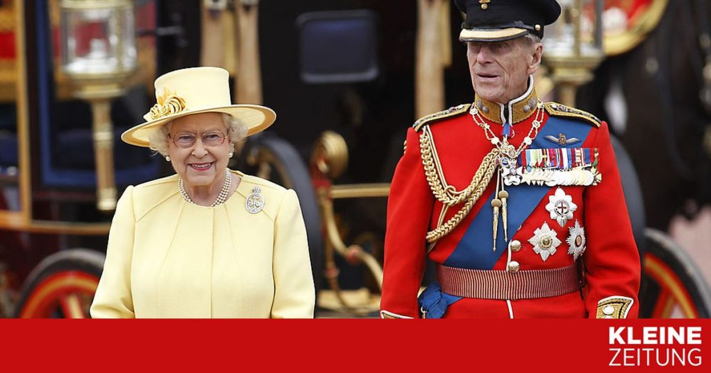 """How can things go on for the queen without the prince by her side?  """"Kleinezeitung.at"""
