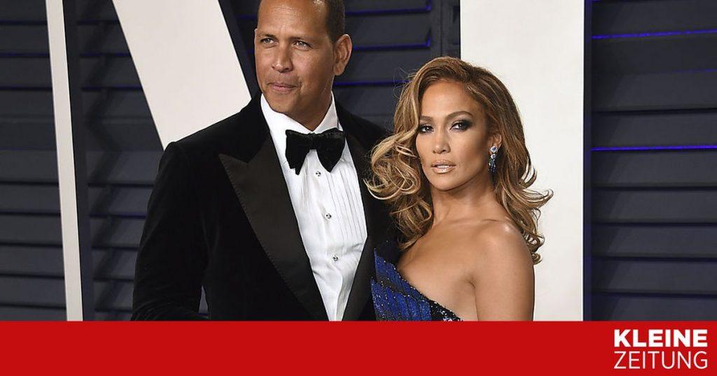 Jennifer Lopez and Alex Rodriguez separated from «kleinezeitung.at