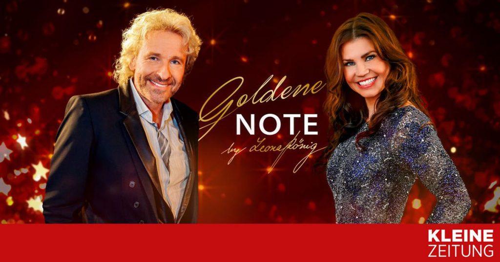 """Goldbär for """"kleinezeitung.at"""" """"golden note."""""""