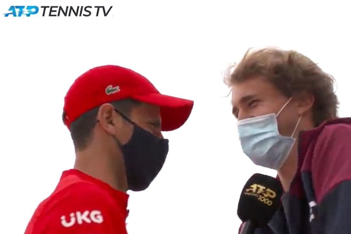 Laughter guarantee!  Nol asks Sasha for an interview