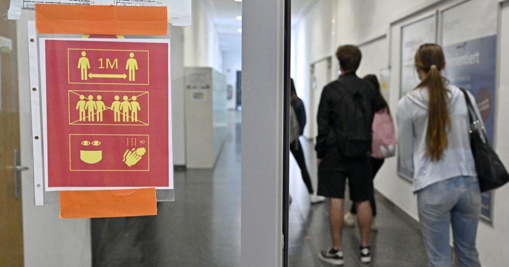 Coronavirus cases in schools in Salzburg are declining