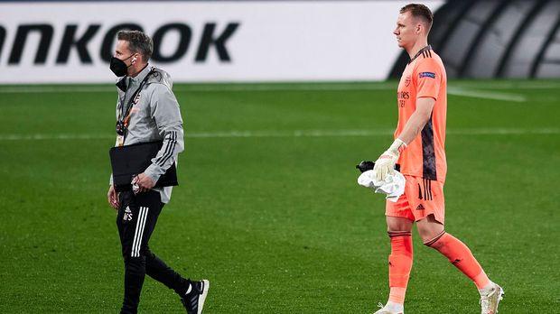 Europa League - Europa League: Arsenal shiver with Bernd Leno-Mann