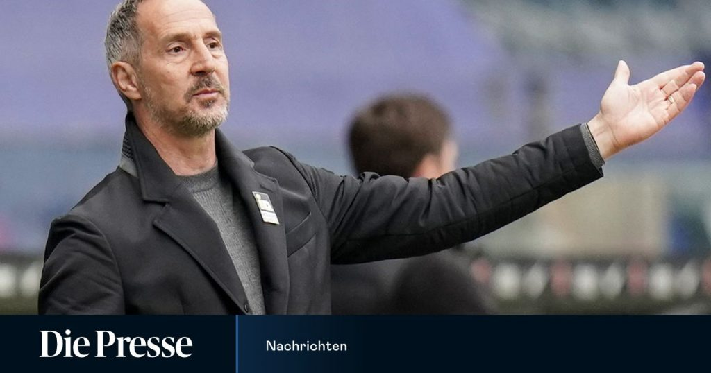 Gladbach confirmed the € 7.5 million transfer fee for Adi Hütter