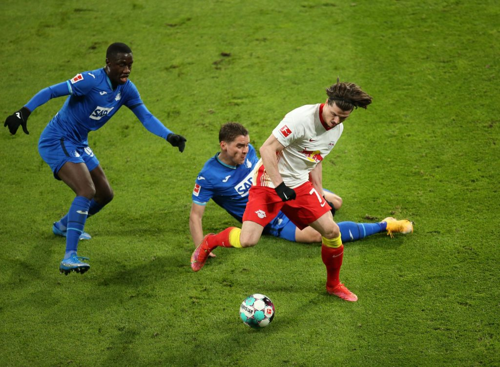 Leipzig fails championship race: draw with Hoffenheim