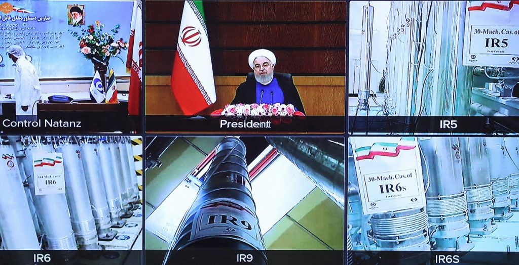 Nuclear talks - Iran is working to greatly increase uranium enrichment