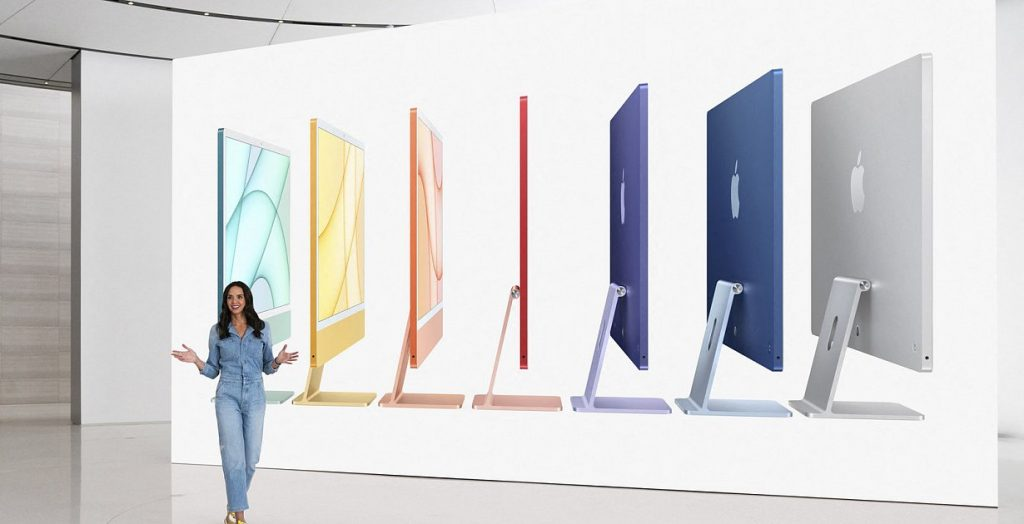 Product Presentation - Apple challenges its PC rivals and Intel with its slim desktop iMac