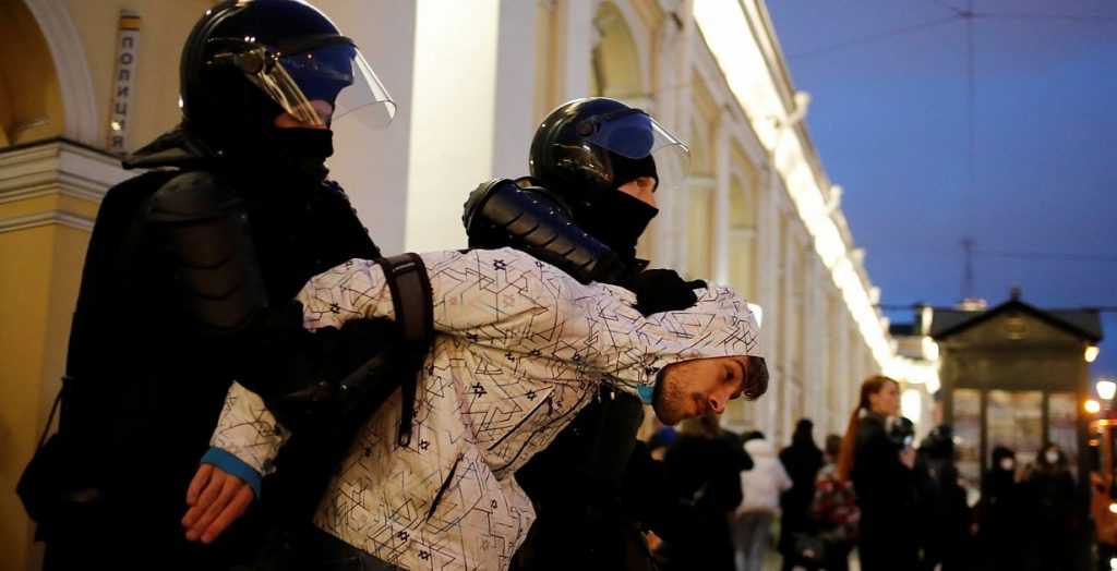 Russia - A thousand arrests in Navalny protests