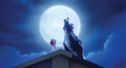 100% Wolf with German voices Alina Freund, Kurt Kroemer and Hela von Senen starting in the cinema on July 1, 2021 (photo)