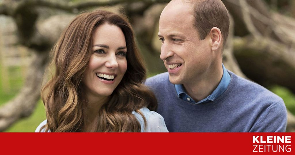 Prince William and Duchess Kate started their own channel «kleinezeitung.at»