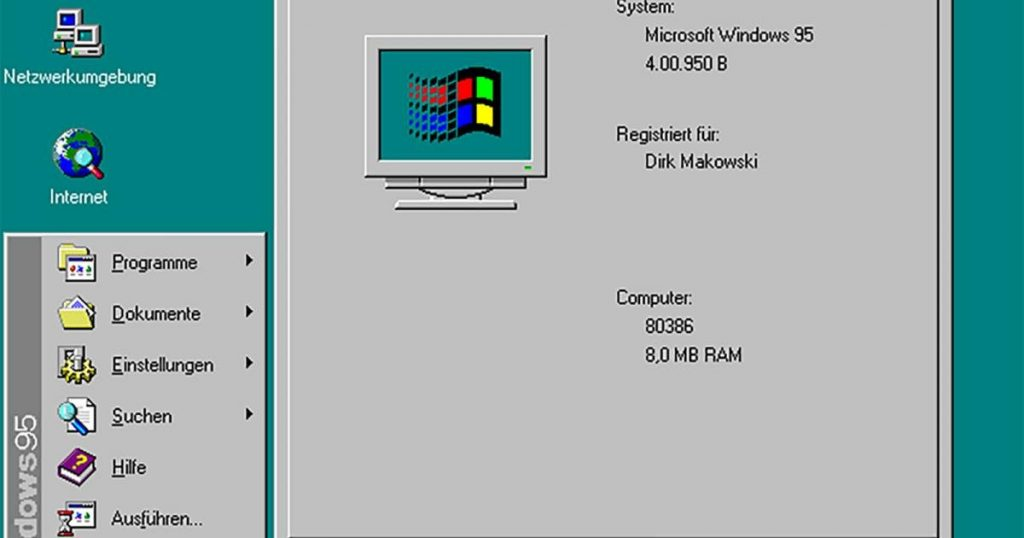 Microsoft is removing Windows 95 icons from Windows 10