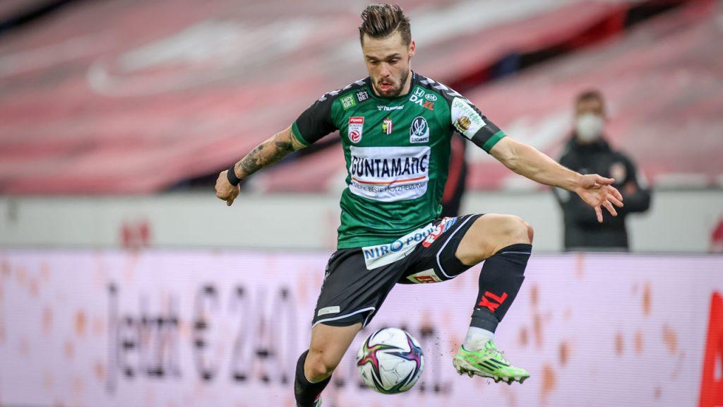 Michael Lercher Reid Power is a hot topic in Erzgebirge Aue - soccer