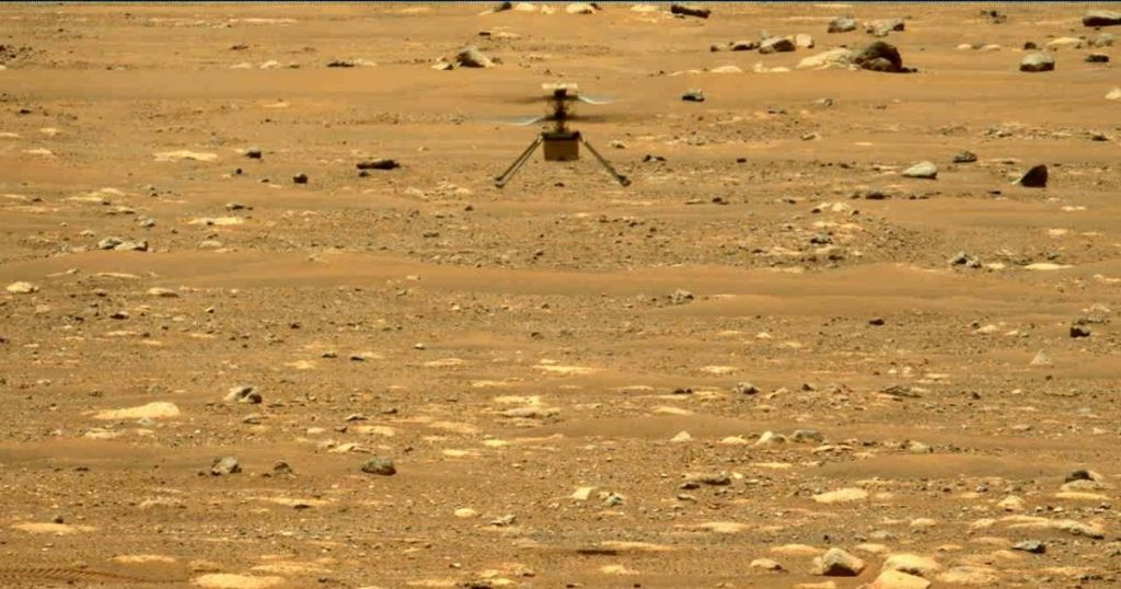 This is what it looks like when creativity flies to Mars