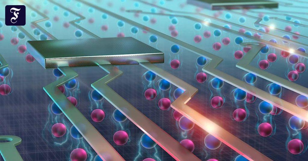 Phantom particles triumph over electronics