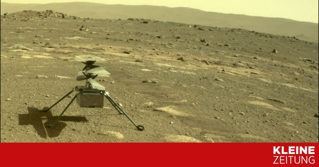 He published the first audio recording of the Martian flight «kleinezeitung.at