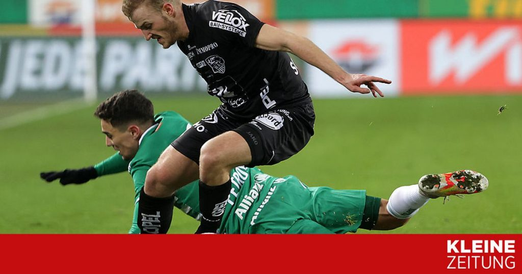 WAC 0: 0: Rapid is controlling everything at the moment «kleinezeitung.at