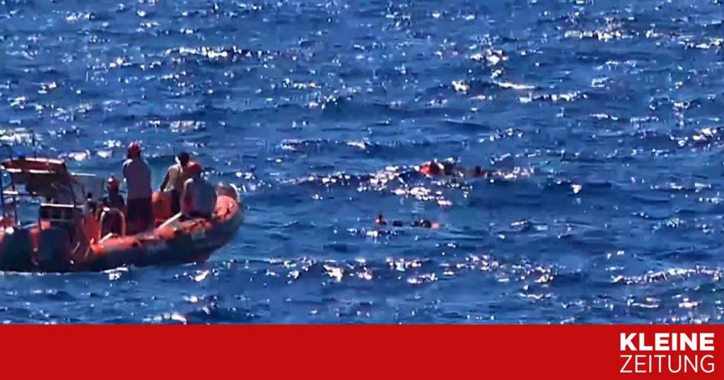 Thousands flee across the Mediterranean Sea «kleinezeitung.at