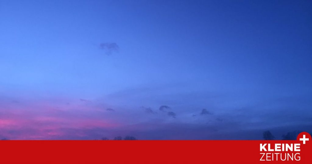 Why not miss the sunset today «kleinezeitung.at