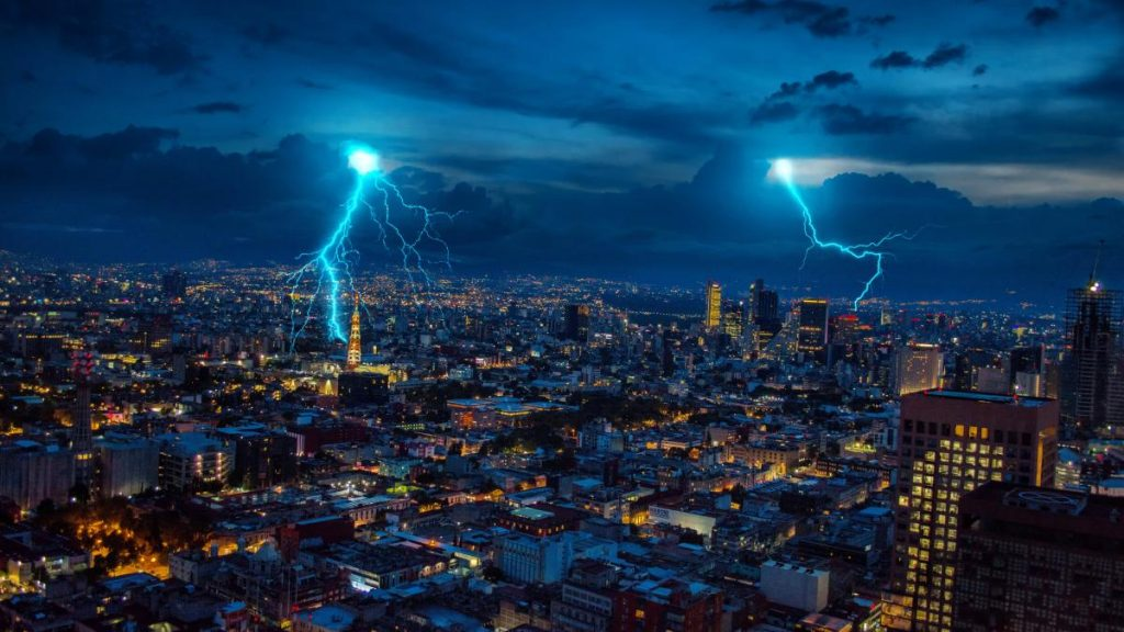 The study shows: Thunderstorms clean the air well