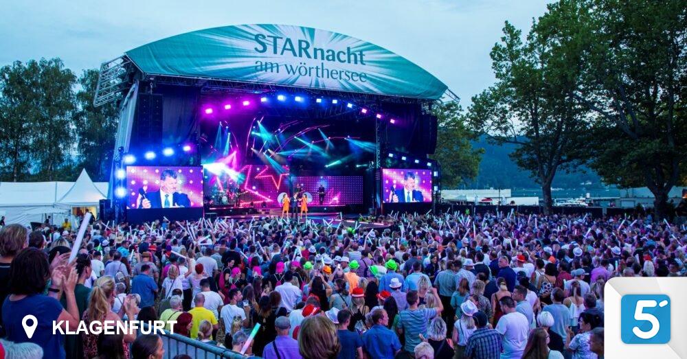 Starry Night in Wörthersee postponed to 2022 in Klagenfurt - 5 minutes