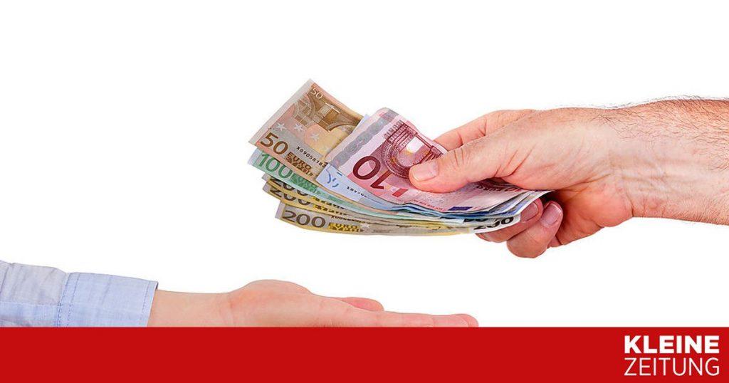 Cancellation bonus request for April from today «kleinezeitung.at