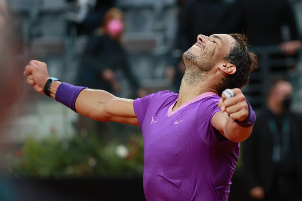 Nadal with a lot of self-confidence in the French Open
