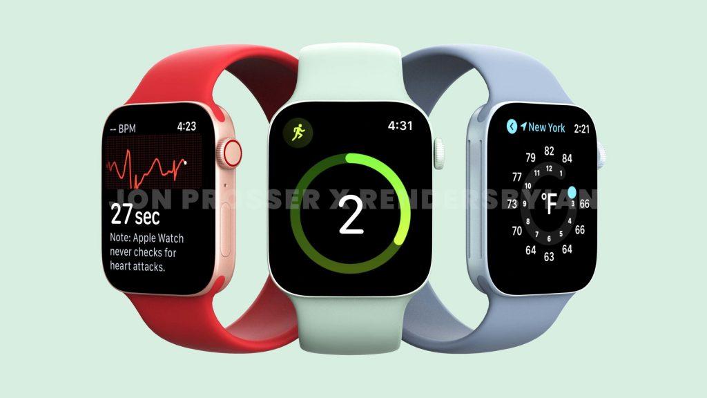 Apple Watch Serie 7 Leak Titelbild