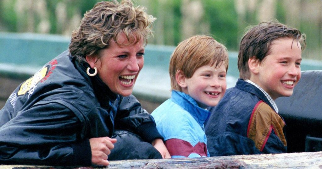 Princess Diana (36): The message appeared!  At that time, Harry and William were still inseparable