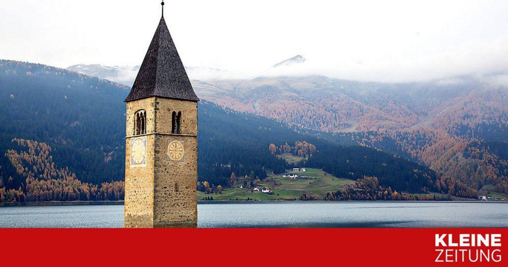 The sunken village appears again after 71 years «kleinezeitung.at