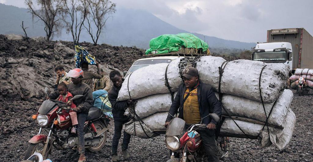 Volcanic eruption in the Congo: Population return despite danger