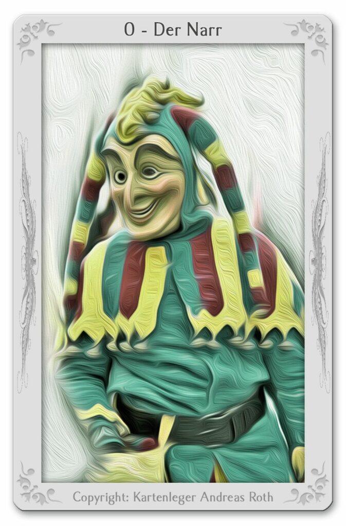 Tarot card 0-the-fool
