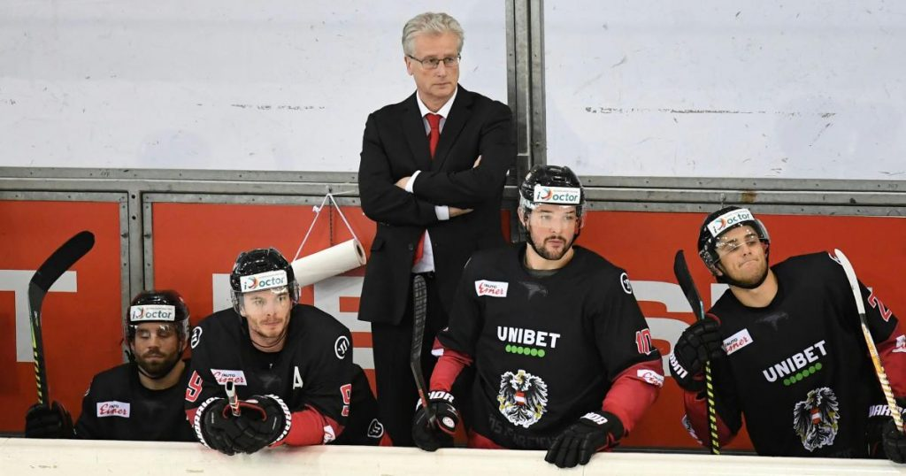 9-3 win: the Austrian ice hockey team defeated Ukraine