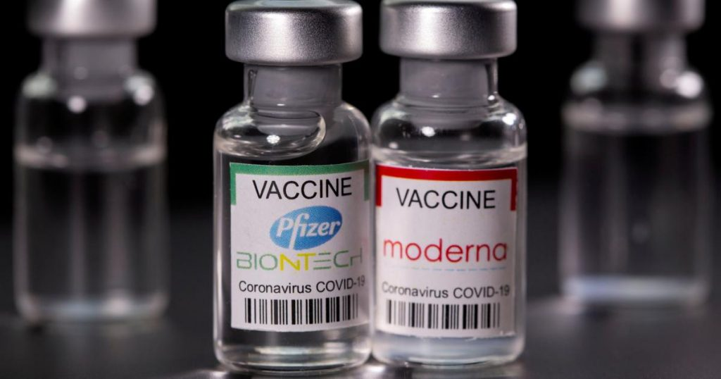 A US analysis shows more vaccine responses according to Moderna than Pfizer