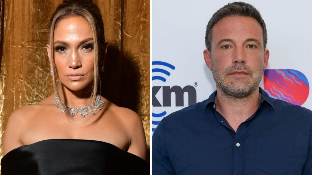 After the breakup: Jennifer Lopez is hanging out with ex-Ben Affleck