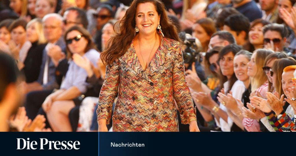 Angela Missoni will be leaving the creative director position at Missoni