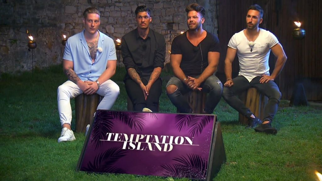 """Angry at Marlisa: The """"Island of Temptation"""" boys support Fabio"""