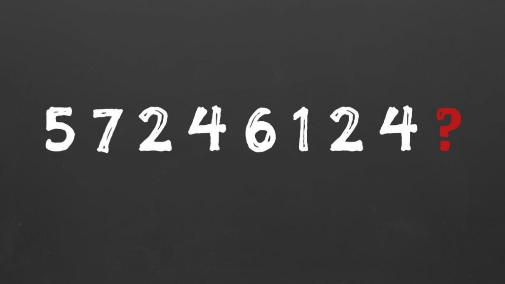 Can you solve this difficult series of numbers?