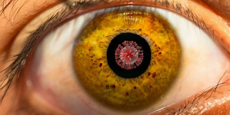 Coronavirus can infect eye cells, according to COVID-19 research.