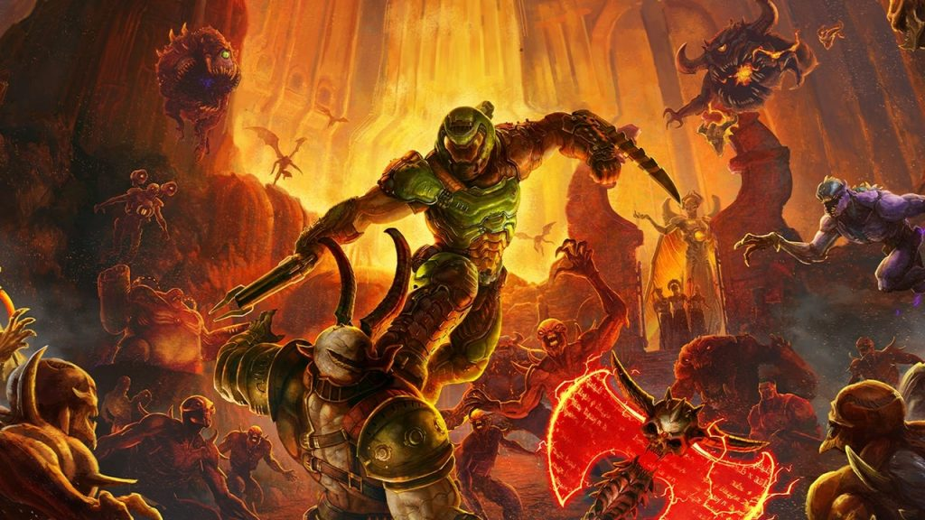 Doom Eternal adds more premium cosmetic DLC after making sure it doesn't