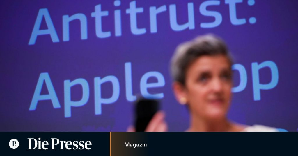 Expensive victories against Vestager for Silicon Valley