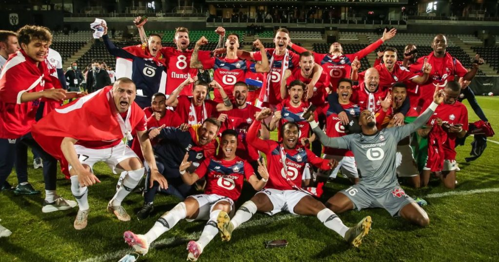 French champion Lille, Neymar and Mbappe get nothing