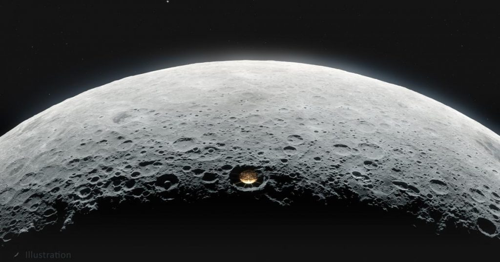 Giant Telescope on the Moon: Plan gets more realistic