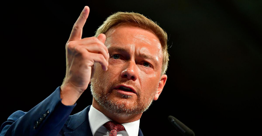 Lindner was re-elected president of the German FDP
