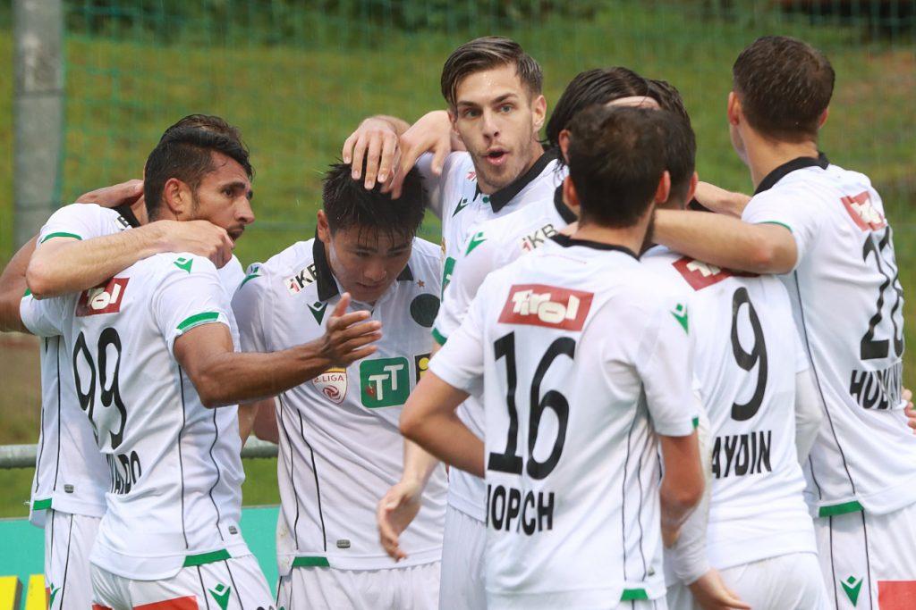 Next please: FC Wacker Innsbruck also tackle SK Vorwärts Steyr - League Two