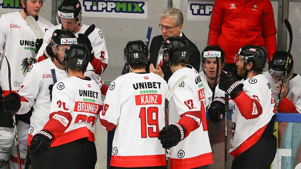 ÖEHV is also undergoing a test match in Slovakia - winter sports - ice hockey