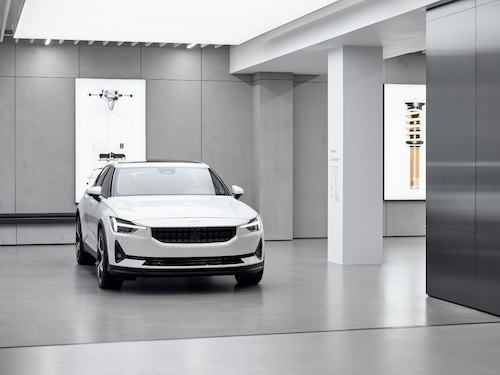 Polestar Space: The Swedish brand of electrical performance started in Frankfurt am Main