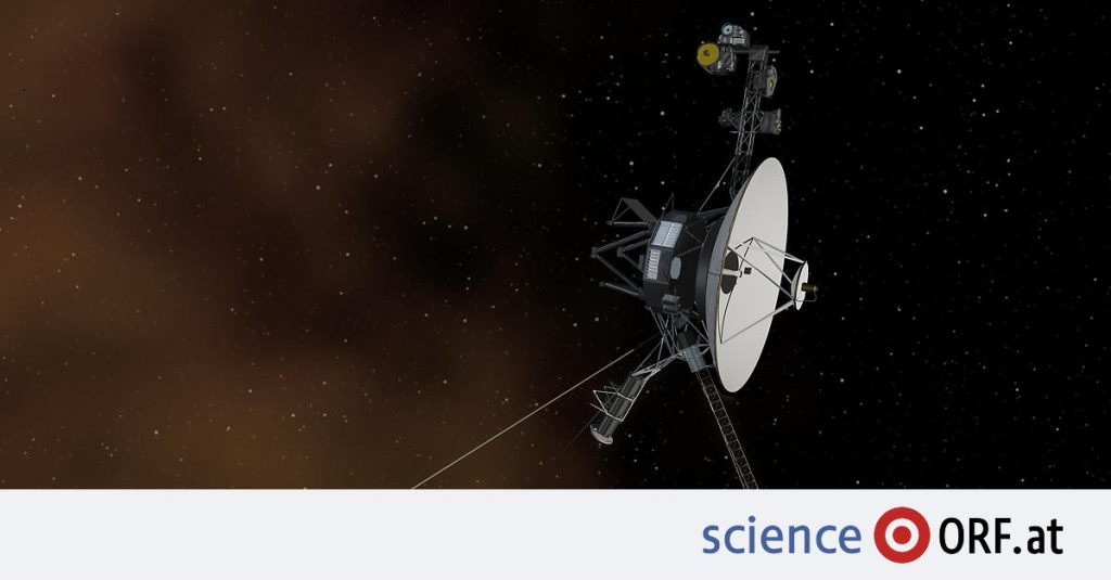 """Space travel: """"Voyager 1"""" hears a plasma hum"""