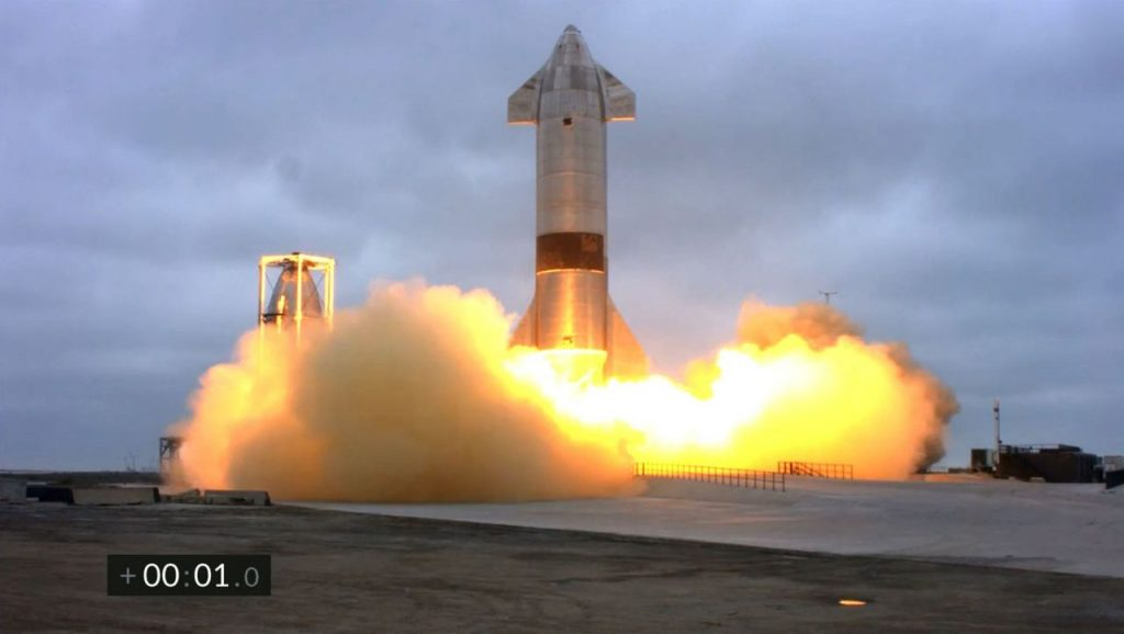 SpaceX: A prototype of the Starship missile has successfully landed after a test flight