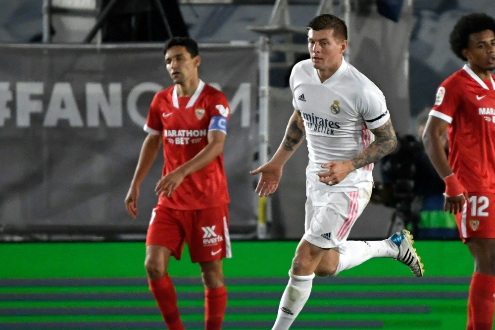 Strange interference from VAR: Real only tied Kroos against Sevilla
