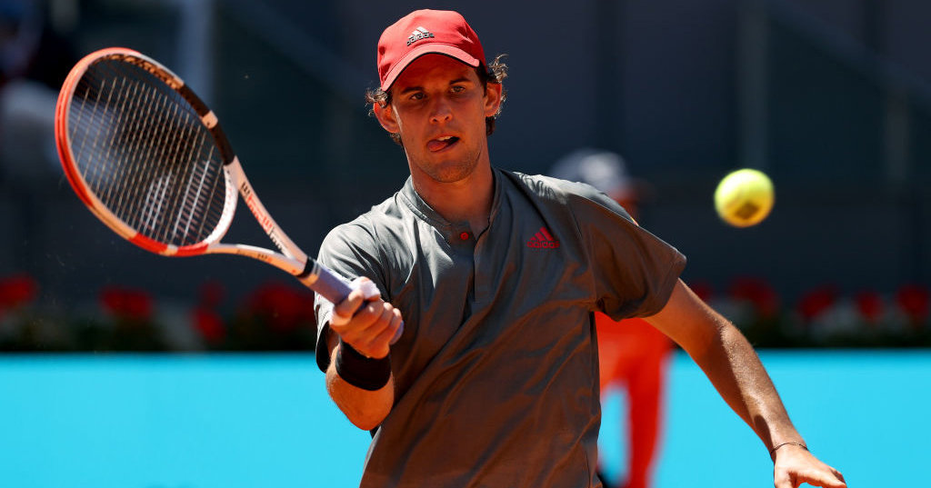 The semifinals!  Dominic Tim beats the John Isner Tennisnet.com transmitter